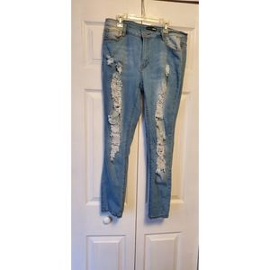 Give good love skinny jeans- size 13